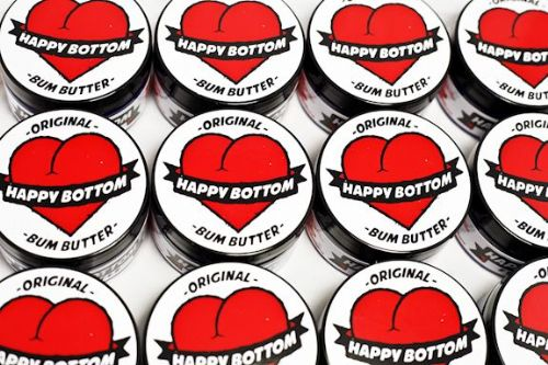 Knob of Happy Bottom Bum Butter
